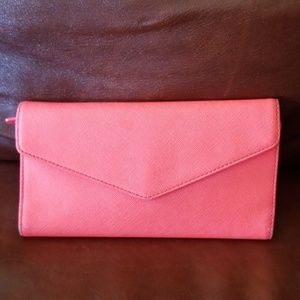 Hot pink MZ Wallace wallet-New York